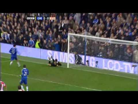 Chelsea 2:1 Stoke City  2009/01/17  highlights