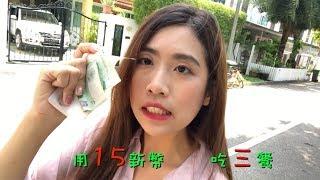 [新加坡日記]新加坡消費高到嚇死人?!挑戰!用15新幣過一整天!
