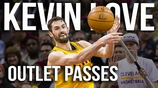 Kevin Love 2014-15 Insane Outlet (Touchdown) Passes