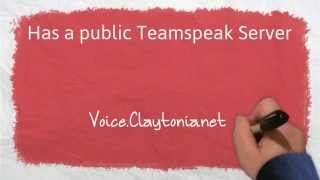 Claytonia Gaming Public Teamspeak