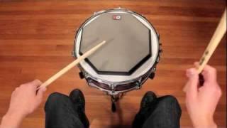 Drum Lesson - Hand Technique: Matched Grip