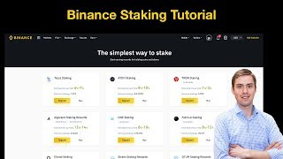 How to make money with staking on binance (tutorial) 💸