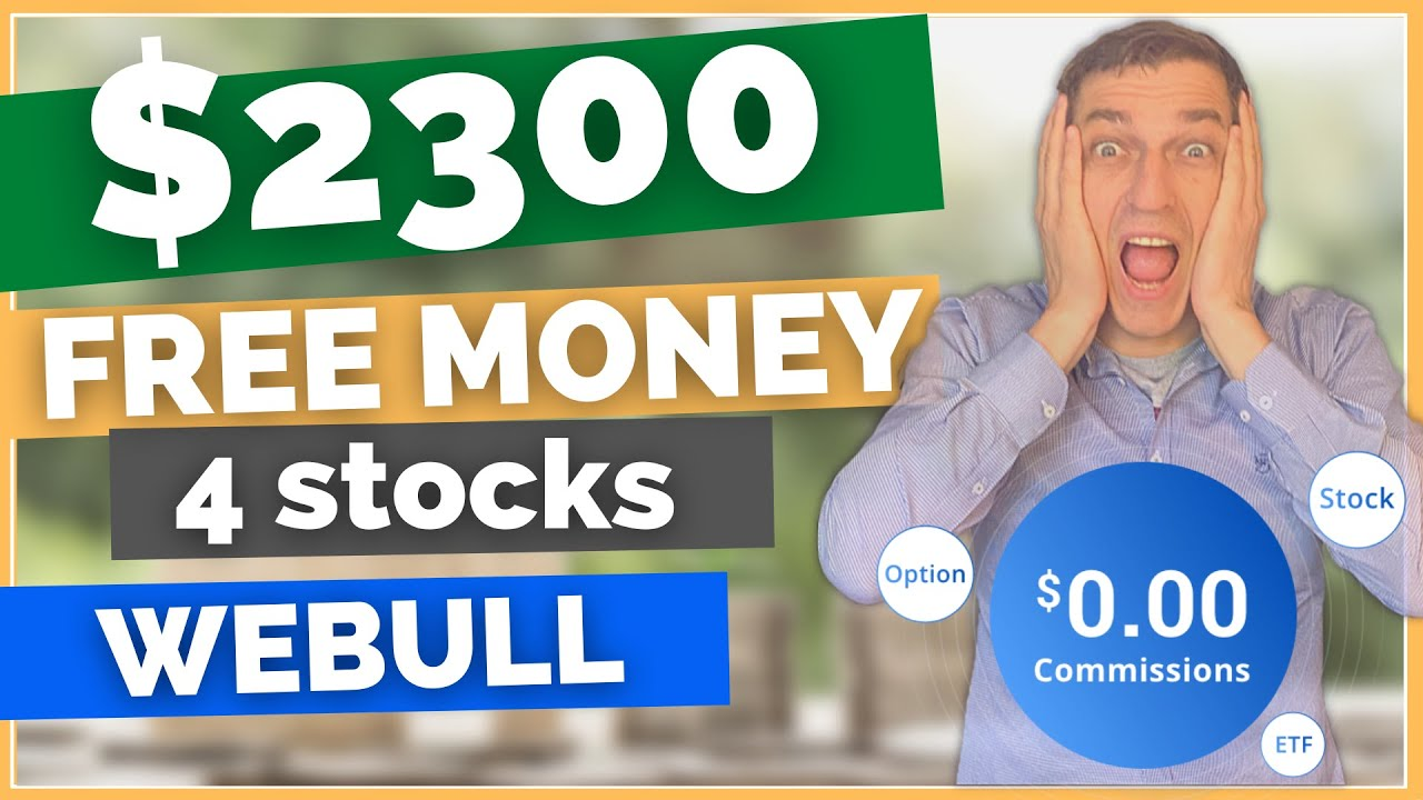 Download Webull free stock   How to get free stock on Webull (Get 4 stocks with a value up to $2300 each)