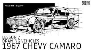 Drawabox Lesson 7: 1967 Chevy Camaro Demo