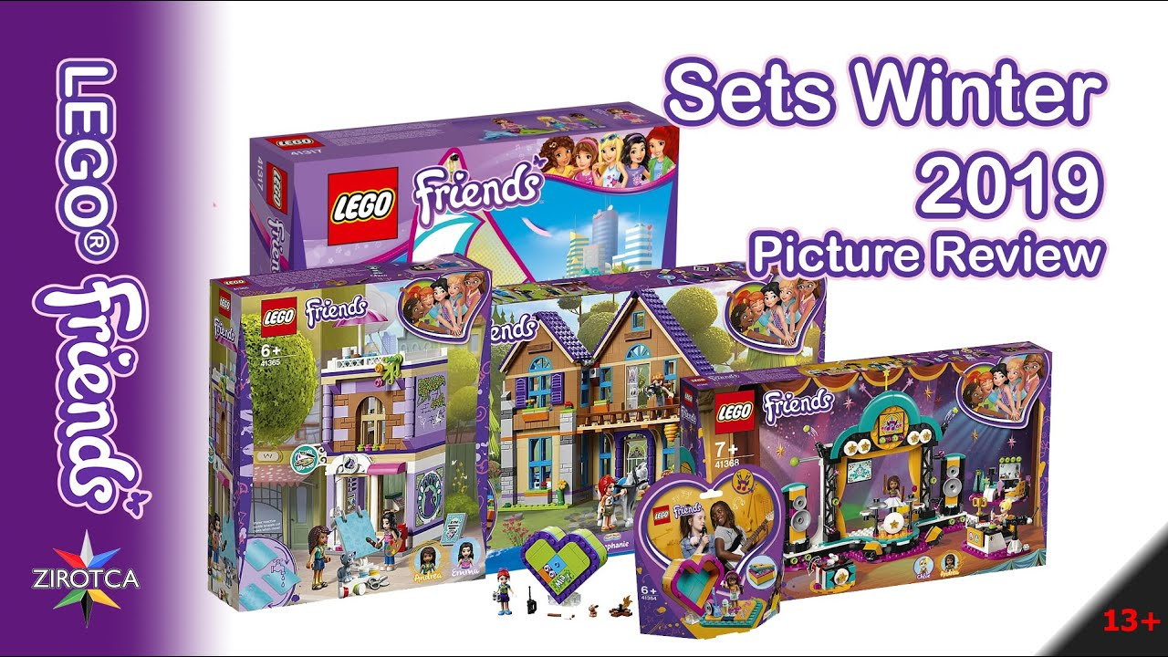 lego friends winter sets 2019 youtube. Black Bedroom Furniture Sets. Home Design Ideas