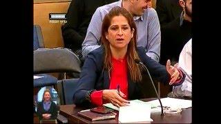 """ערוץ הכנסת - דיון סוער וטעון בוועדת חינוך על פעילות """"שוברים שתיקה"""", 5.1.16"""