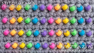 How to Add Beads to Crochet - Crocheting and Beading Stitchorama by Naztazia