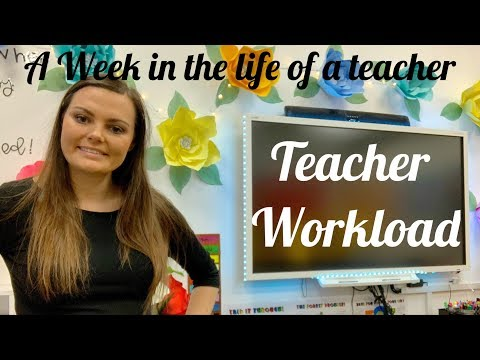Week In The Life Of An Assistant Head Teacher EP 4- Teacher Workload!