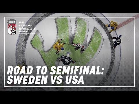 Road to the Semi-final: Sweden vs USA   #IIHFWorlds 2018