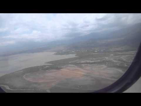 Flight   Port Vila to Noumea Landing