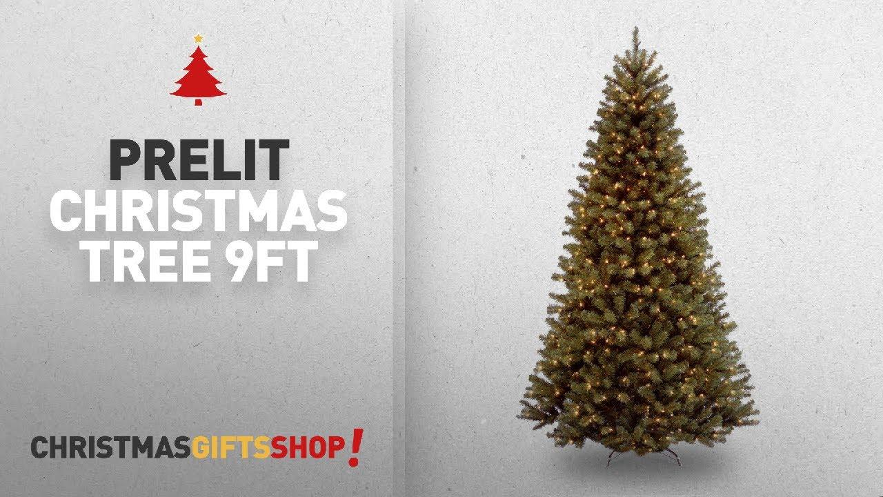 9ft Christmas Tree Prelit
