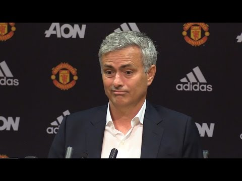 Manchester United 1-2 Manchester City - Jose Mourinho Full Post Match Press Conference