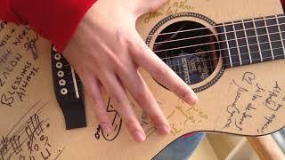 El secreto que esconde la guitarra de Alfred 'OT'