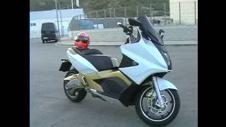 Gilera GP 800 white & gold test - Leovince titanium - bmc - carbon - loud exhaust sound - HQ