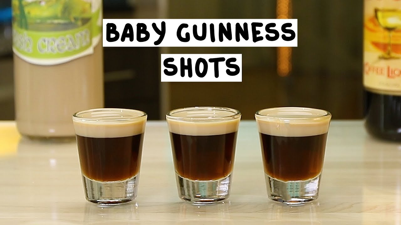 Baby Guinness Shot  Tipsy Bartender
