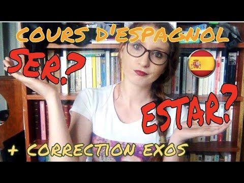 Espagnol Ser Estar Verbes De Base Exercices Corriges Youtube