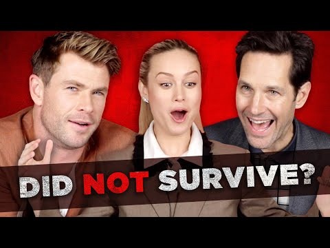 The Cast Of Avengers: Endgame Tries To Survive Thanoss Snap