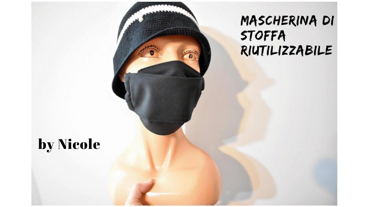 mascherina antivirus fai da te stoffa