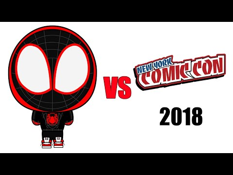 Miles Morales Spider-Man & New York Comic Con 2018