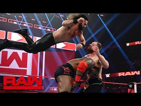 Ambrose vs. Rollins vs. Lashley - Intercontinental Title Triple Threat Match: Raw, Jan. 14, 2019