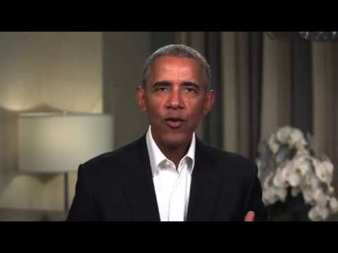 Watch as President Obama drops in on our Obama Foundation community meeting l