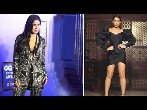 Sara Alia Khan And Katrina Looking Very GORGEOUS At THE GQ MEN OF THE YEAR AWARDS 2019 Mp3