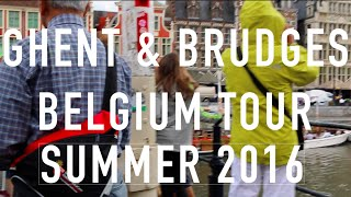 Ghent and Bruges Tour
