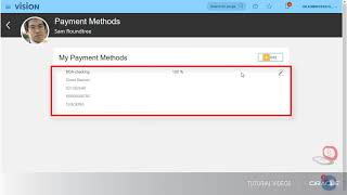 Payroll | Creating Personal Payment Methods video thumbnail