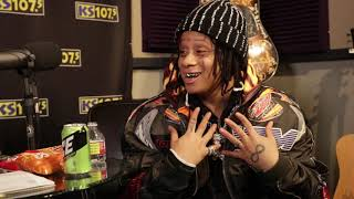 Trippie Redd funniest interview. Explains face tattoos+talk video games \'Rosas Risky Rotation\' Ep.30