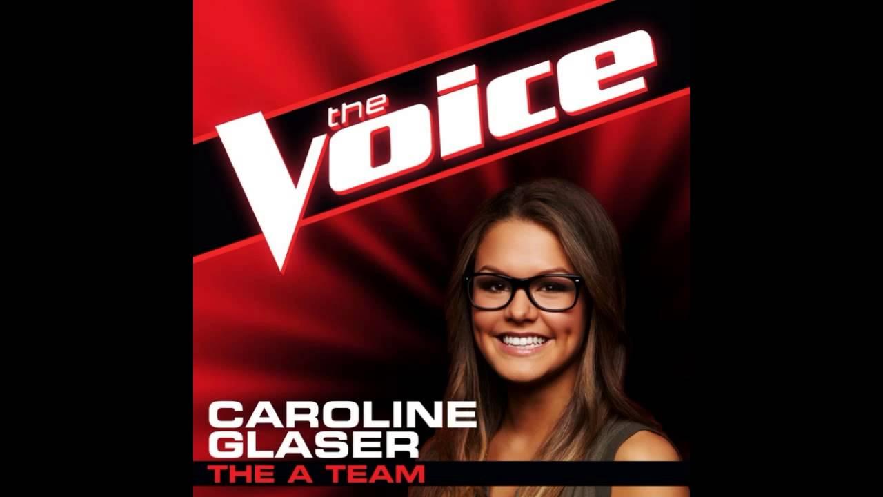 caroline glaser the a team the voice studio version. Black Bedroom Furniture Sets. Home Design Ideas