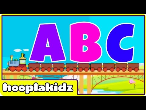 ABC Train Song   New ABC Song For Babies and Toddlers   Learning A to Z for Children