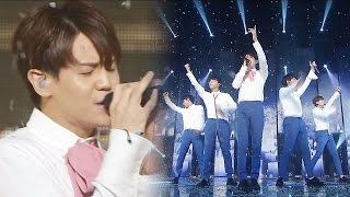 《MOURNFUL》 BEAST - Ribbon @인기가요 Inkigayo 20160724