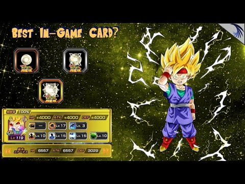 Top In-game Card?! SSJ Goku jr maxed potential system! Ability system  changes: DBZ Dokkan (JP)