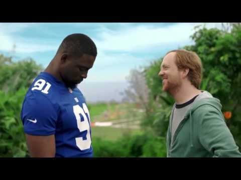 Justin Tuck - NFL on ESPN Commercial