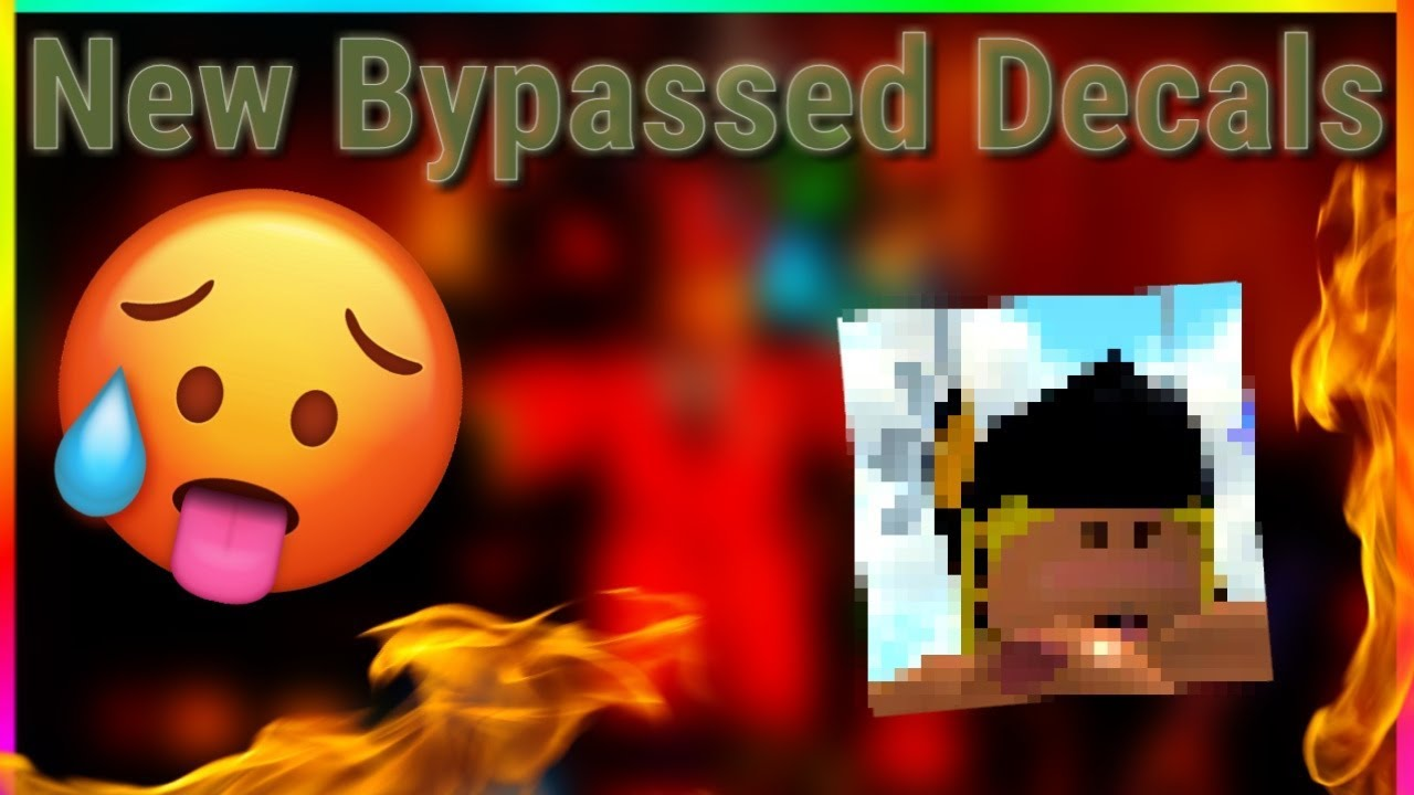Roblox Id Decals Anime Bypass