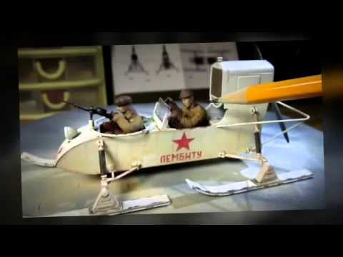 Building Soviet Aerosan RF-8/GAZ-98 by Trumpeter in 1/35 scale