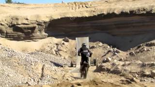 Dirt Bike Ramp Jumps at the Pit