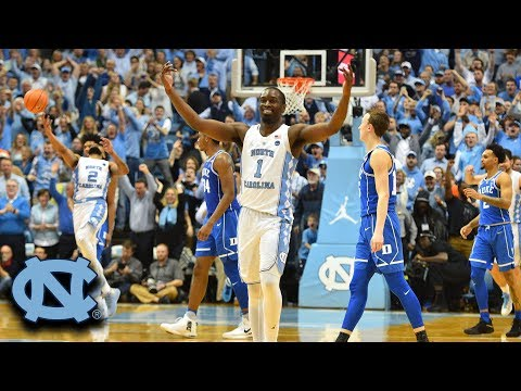 Theo Pinson Dunk Puts Exclamation Point On UNC Win vs. Duke