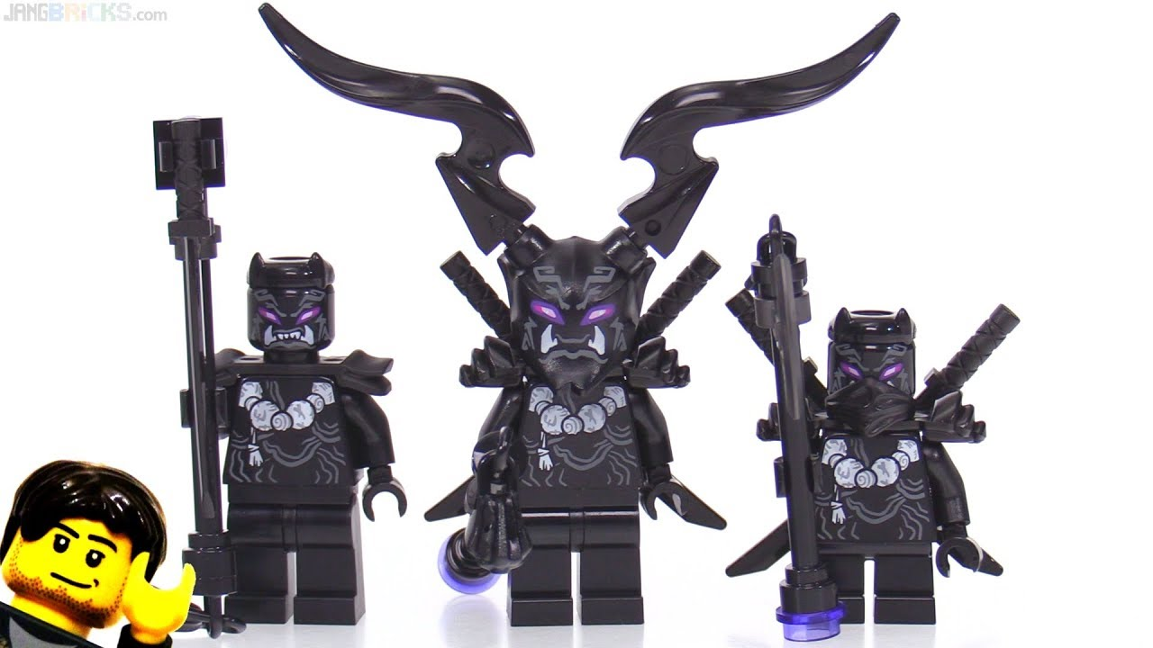 50% prijs online te koop buy LEGO Ninjago Oni Villains battle pack review 👹 853866