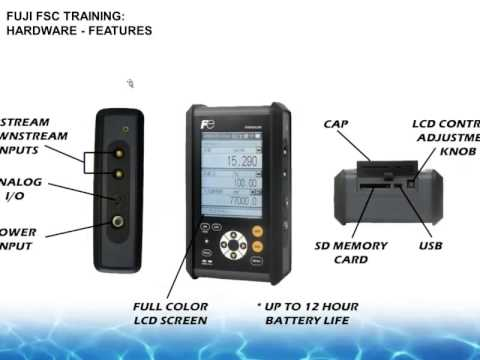 Training: Fuji Portaflow-C (FSC-2)