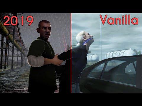 GTA 4 Cutscene Comparison - 2019 Mods Vs. Vanilla [CryEnb V3] (#2/Diamonds Are A Girl's Best Friend)