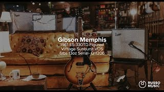 Snacks 002: Gibson Memphis '61 ES-330TD Figured VOS