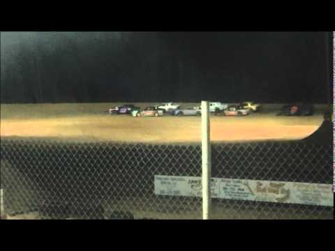 April 4, 2014 Levi Feature Pure Stock, Northwest Florida Speedway
