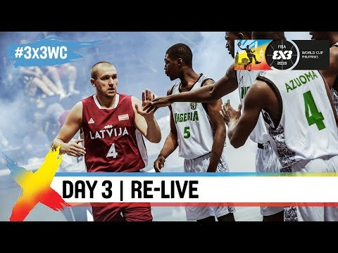 FIBA 3x3 World Cup 2018 - Pool Phase - Day 3 - Re-Live - Manila, Philippines