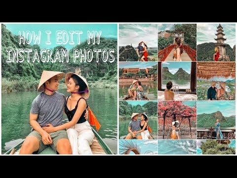 #2 HOW I EDIT MY INSTAGRAM PHOTOS | Bí Kíp Chỉnh Ảnh Xịn Xò ♡ TRAM LE ♡