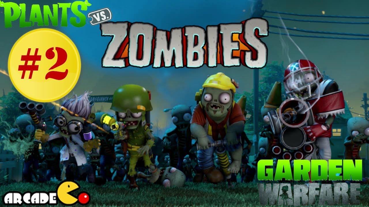 Plants Vs Zombies Garden Warfare Part 2 Multiplayer Welcome Mat Walkthrough Gameplay Youtube