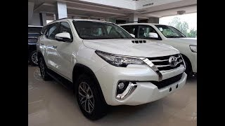 2017-2018 Toyota Fortuner Full Option | The Legend Of Pride | Full Detail Start Up Review