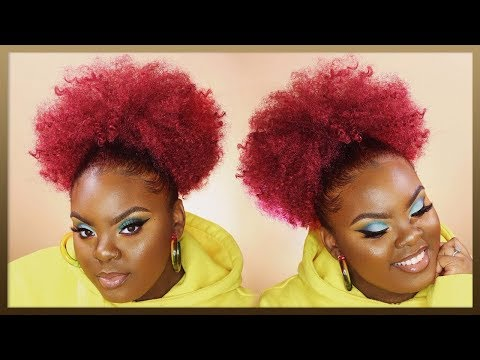braidless-crochet-high-puff!-🔥-quick-&-easy-natural-hairstyle-|-janet-collection-|-joynavon