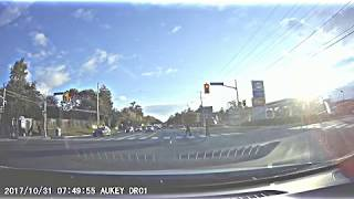 Driver and vehicle sought in fail to remain collision, Steeles Avenue East at Laureleaf Road,