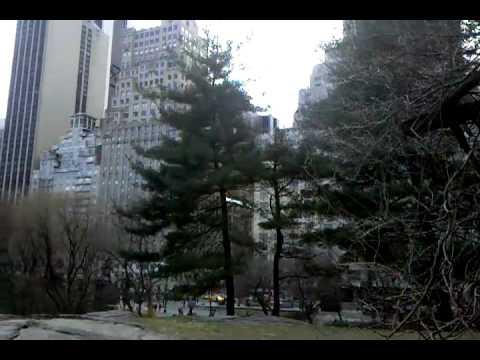 National historic landmark of Central Park.